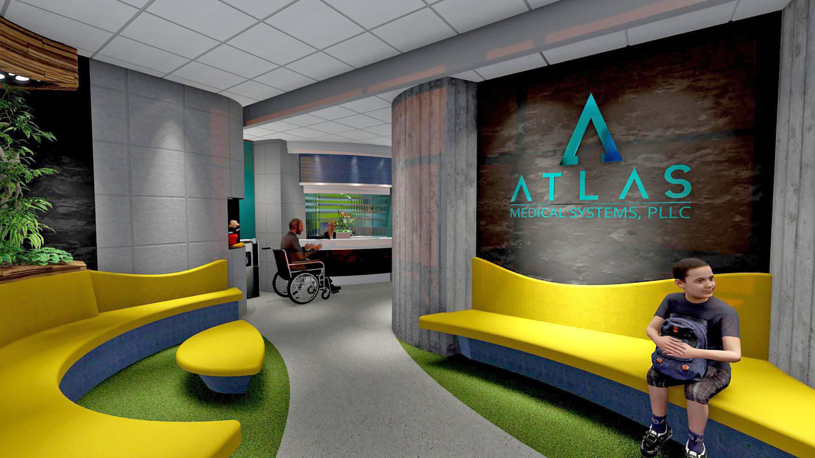 medical office interior design. Click To Enlarge Image Atlas-Medical-Chandler-Office_Lobby.jpg Medical Office Interior Design :