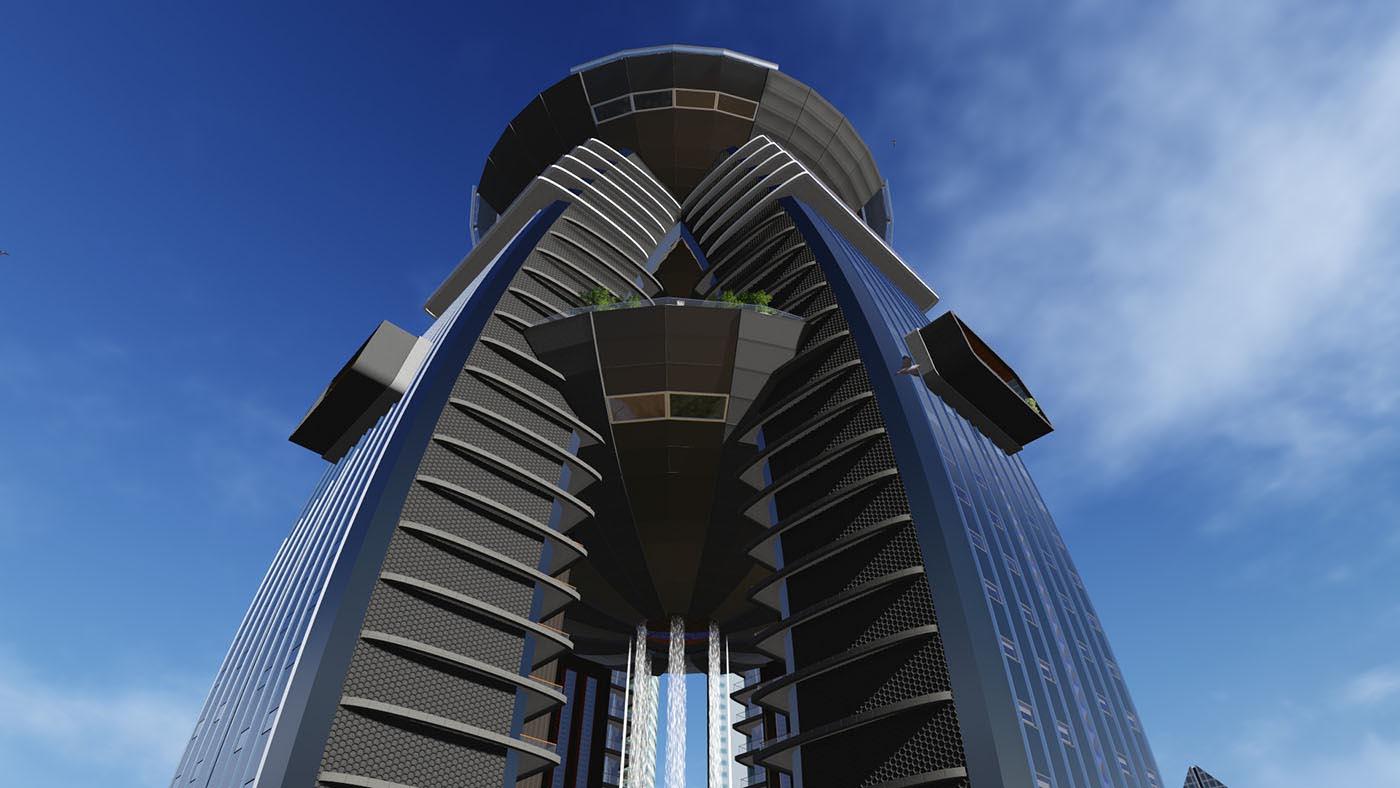 office block design. Click To Enlarge Image 006_Dubai_Office_Tower_Design_SpaceLineDesign.jpg Office Block Design