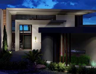Custom Home Design Fountain Hills Az, Space Line Design Architects